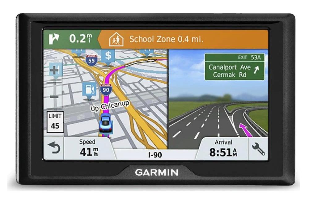 Рис. 2. Навигатор Garmin Drive 61 RUS LMT – копия модели 60 с большим экраном.