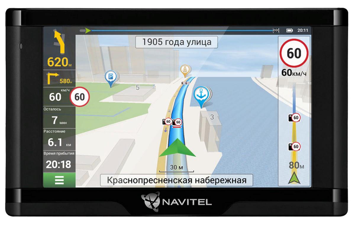 Рис. 3. Модель Navitel E500 с встроенным радар-детектором.