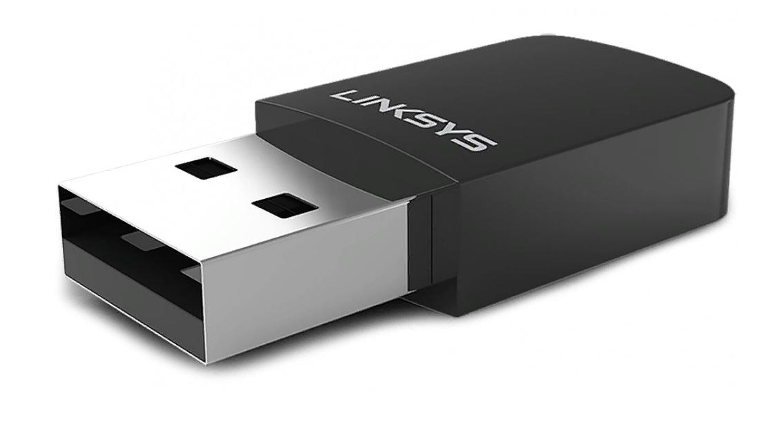 Рис. 4. Linksys WUSB6100M – один из самых компактных Wi-Fi адаптеров.