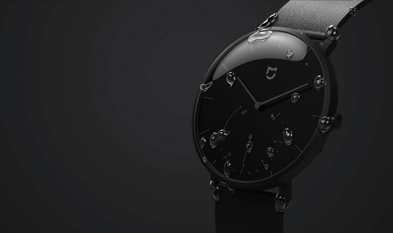 Рис. 6. Mijia Quartz Watch с минимальной функциональностью и лучшей автономностью.