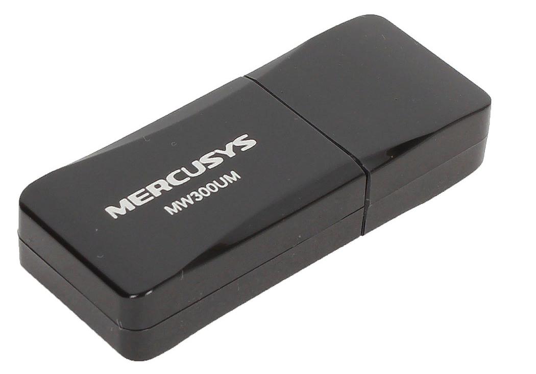 Рис. 7. Мини USB-адаптер Mercusys N300 MW300UM.