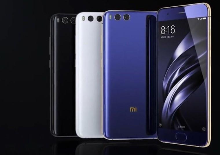 Рис. № 8. Цветовые вариации Xiaomi Mi 6.