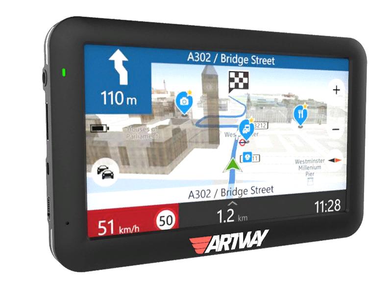 Рис. 9. Навигатор Artway NV-800 GPS с антенной F3i+.
