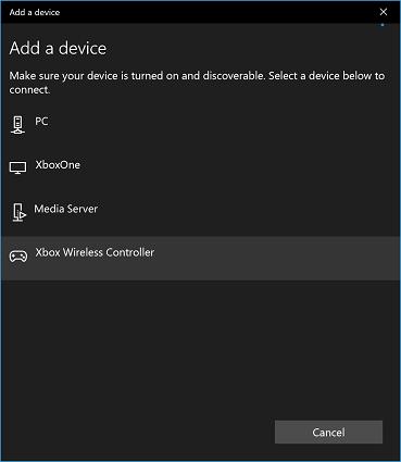 Добавление Xbox Controller в Windows