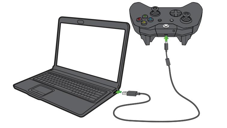 Соединение с ПК через USB